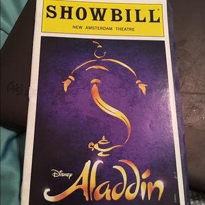 Aladdin The Musical Playbill
